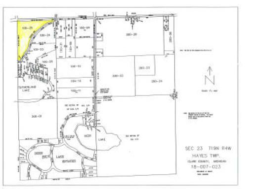 18.4 TOWNLINE LAKE ROAD, Harrison, MI