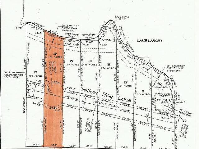 Lot 16 WILLOW BAY, Gladwin, MI
