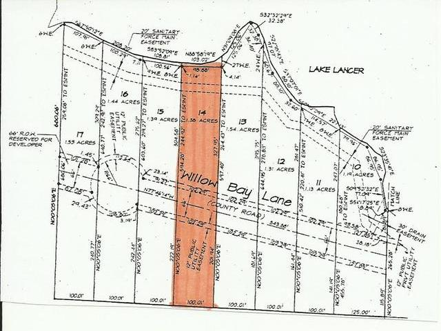 Lot 14 WILLOW BAY, Gladwin, MI