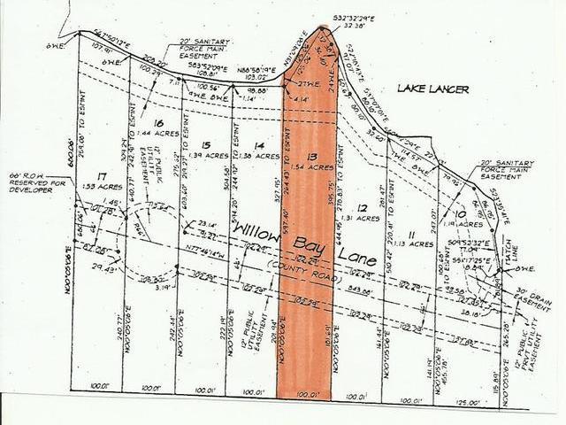 Lot 13 WILLOW BAY, Gladwin, MI