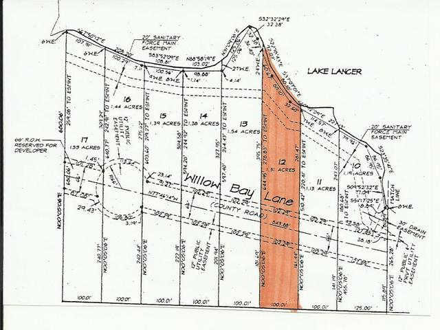 Lot 12 WILLOW BAY, Gladwin, MI