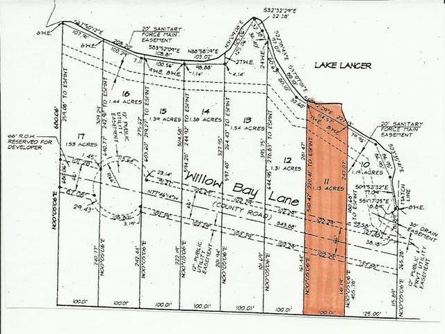 Lot 11 WILLOW BAY, Gladwin, MI